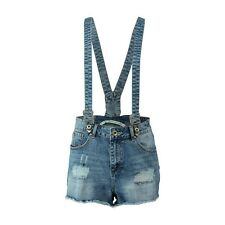 CoolCat High Waisted Denim Shorts Size XS Blue DH076 MM 02
