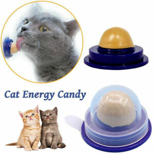 Cat-Snacks-Catnip-Sugar-Candy-Licking-Solid-Nutrition-Energy-Ball-Toys-Healthy