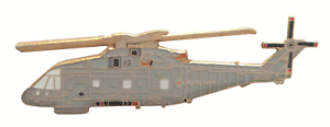 AgustaWestland AW101 Merlin Helicopter Royal Navy RN Pin Badge