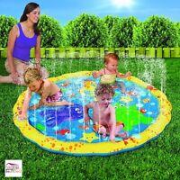 Sprinkle Sprays Splash Play Mat 54 Inch Kids Water Play Backyard Pool Toy Fun