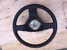 VW PASSAT CADDY SPOKE STEERING WHEEL BLACK LEATHER 1K0419081AG 2005-2010