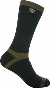 Dexshell-Trekking-Socks-Waterproof-Breathable-Close-Fitting-Thermal-Oilve-Green