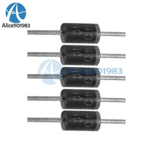 100PCS 1A 100V Diode 1N4002 IN4002 DO-41 Rectifier Diodes