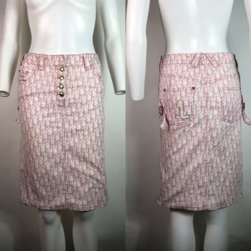 Rare Vtg Christian Dior by John Galliano Pink Trot