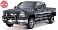 Fits 2003-2006 Chevy Silverado 1500 Grill Brush Guard Push Crash Bar Black