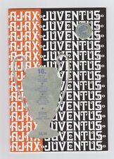 PRG EC 1 1972/73 finale Ajax Amsterdam-Juventus Torino // reprint!!!
