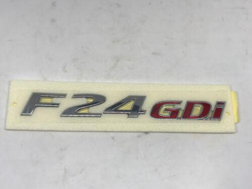 Rear Trunk F24GDi Logo Emblem For 2011 2013 Hyundai Sonata i45 YF