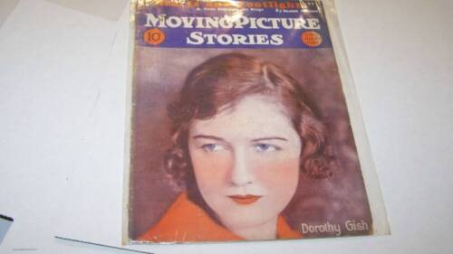 1101928 MOVING PICTURE STORIES movie magazine GISH