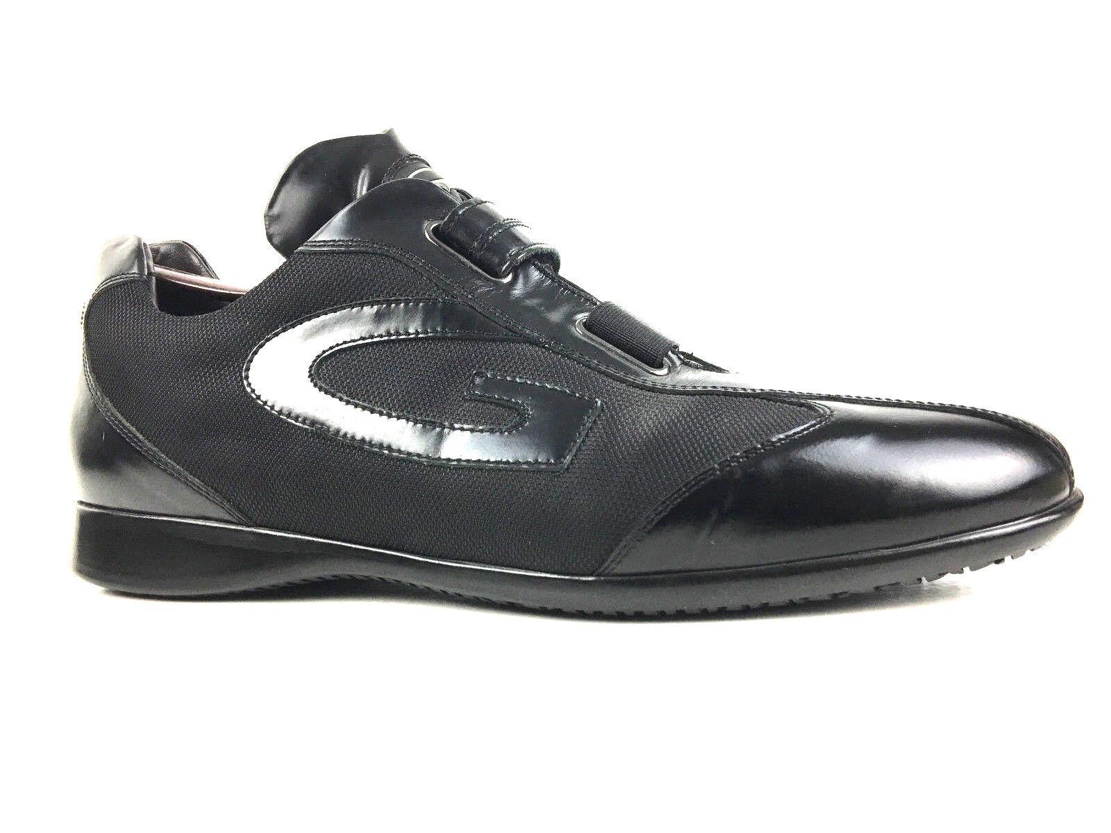 Alberto Ruben Italia Para Hombre Zapato de vestido negro talla US.11 UK.10.5 EUR.44