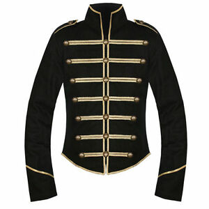 Black-Gold-My-Chemical-Romance-Parade-Military-Jacket-Halloween-Cosplay-Costume