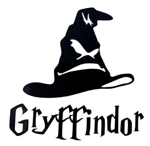 Harry Potter Gryffindor Tri Chapeau Autocollant Vinyle Autocollant-Idéal pour Tasses verres