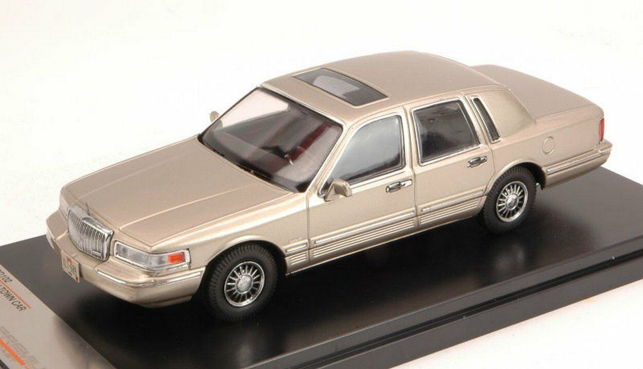 PREMIUM X  1 43   LINCOLN  TOWN  CAR 1996 CHAMPAGNE