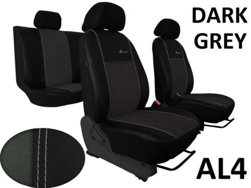 AUDI Q3 2011-2018 Eco Cuero Y Alicante Tailored fundas de asiento hecho a la medida