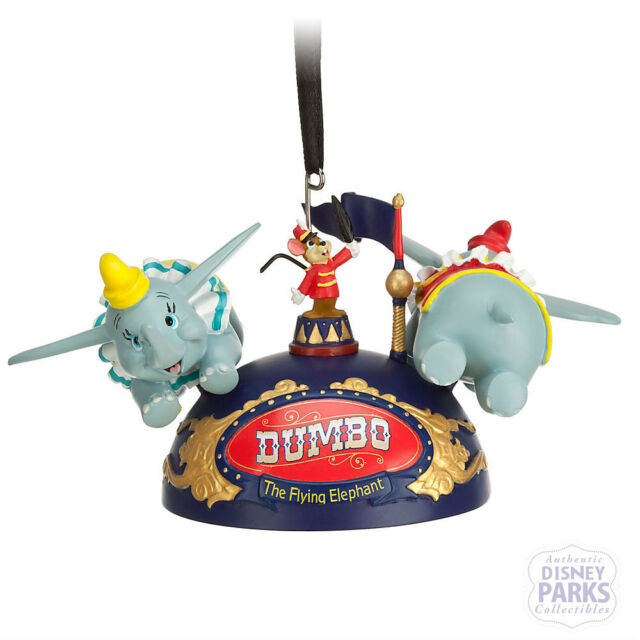 Disney Parks Dumbo the Flying Elephant Ear Hat Ornament