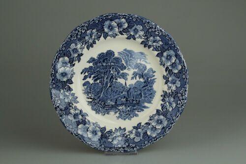 Speiseteller D 25 cm Enoch Wedgwood Woodland blue blau