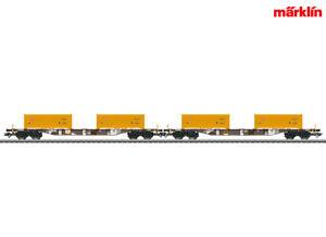 Marklin-47130-Conteneur-Porteur-Set-034-Terras-Stuttgart-21-034-NOUVEAU-amp-NEUF-dans-sa-boite