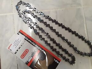 "Genuine 20/"" Oregon Chainsaw Chain 86 Drive Links 0.058/"" Gauge 0.325/"" Pitch"