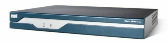 Cisco 1841 Integrated Services Router w/ 64mb Compact Flash Drive