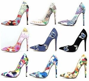 Stiletto Shoes Shoe Details Heel Toe Women's High Colored Pointy Multi Pumps About Republic TcKF31lJ
