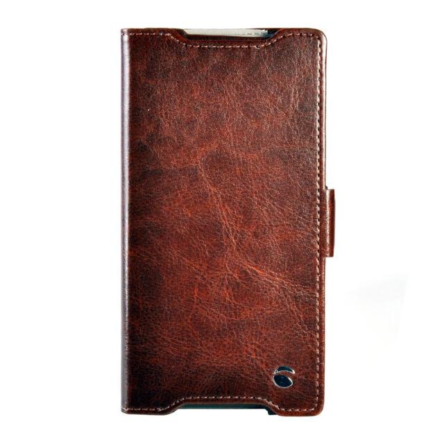 Krusell Ekerö FolioWallet 60415 Book Case für Sony Xperia Z5 / Z5 Dual, braun
