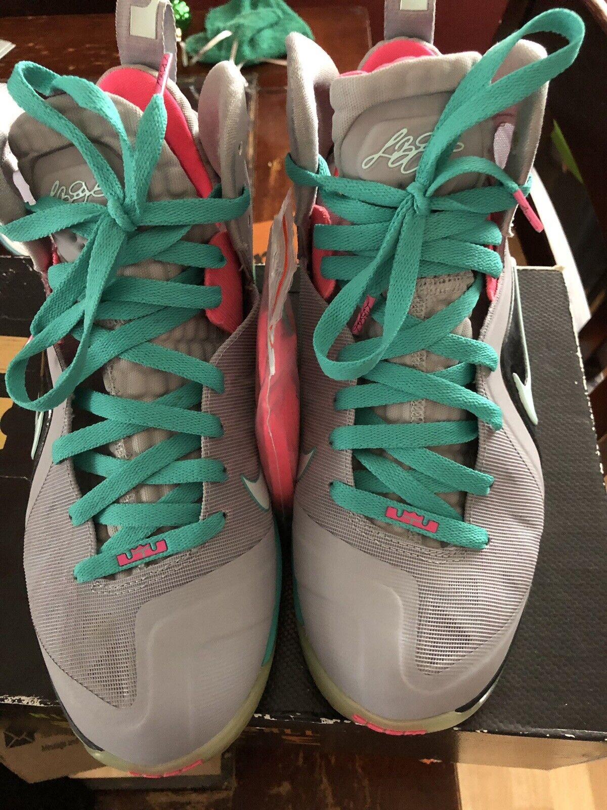Nike Lebron South Beach 9 Sz 8