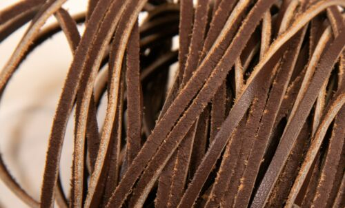 sold in 20 meter lengths Leather Lace Thong Cord 2mm brown
