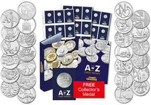 2018 UK Complete EARLY STRIKE complete 10p Set with completer in stock
