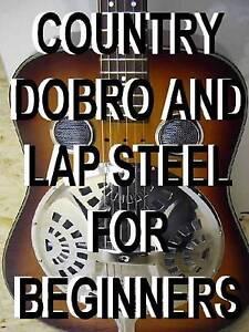 country dobro lap steel guitar lessons dvd beginner resonater open g slide ebay. Black Bedroom Furniture Sets. Home Design Ideas