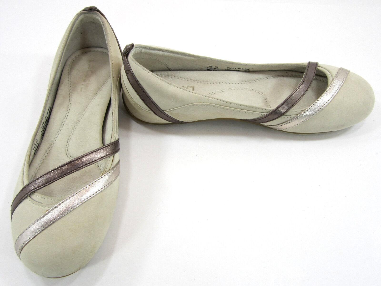 LaCoste scarpe Papillon Shine Tan  Beige   Marronee Slippers Mismatch donna 6  6.5  per il commercio all'ingrosso