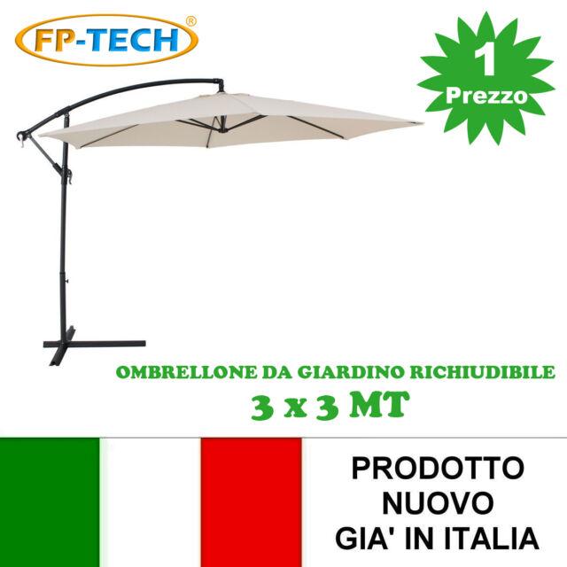 Ombrellone Da Giardino 3x2.Fp Tech Fp Yx 4212 3 X 3 Ombrellone Da Giardino Laterale