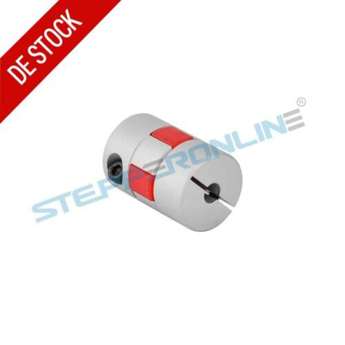 6mm-10mm Flexibel Klauenkupplung 20x30mm Schrittmotore Wellenkoppler 3D Drucker