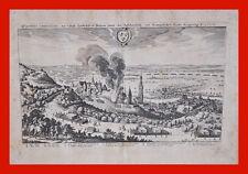 Kupferstich, Merian 17. Jahrhundert -  Belagerung von Landshut  (# 2543)