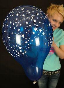 5-x-16-034-Qualatex-STARS-A-ROUND-Luftballons-in-gemischten-Kristallfarben
