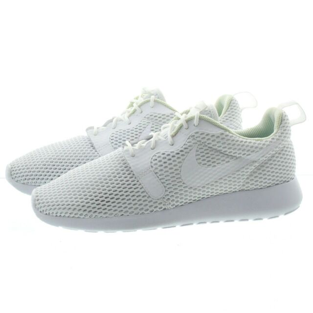 724a34856fc8f Nike Womens Roshe One HYP Hyperfuse BR Sz 10 White Pure Platinum ...