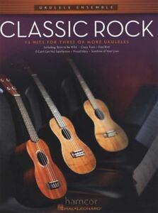 Analytique Classic Rock Ukulélé Ensemble Music Book-afficher Le Titre D'origine Excellente Qualité
