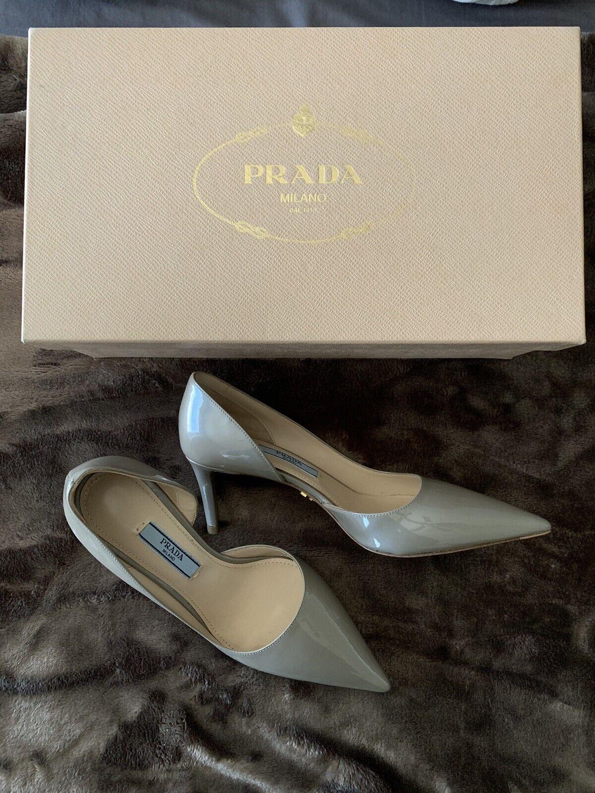 100% Autentisk Prada Prada Prada Pump storlek 34  kundens första rykte först