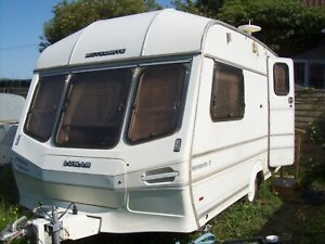 2 Berth Caravan,Lightweight Tourer,+ Awning | eBay