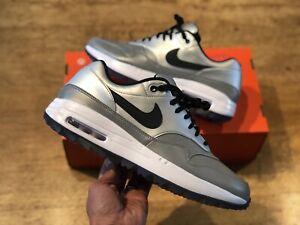 Nike-Air-Max-1-NRG-Royal-reflektierende-Golf-Turnschuhe-uk9-5-eur44-5-us10-5-Denim