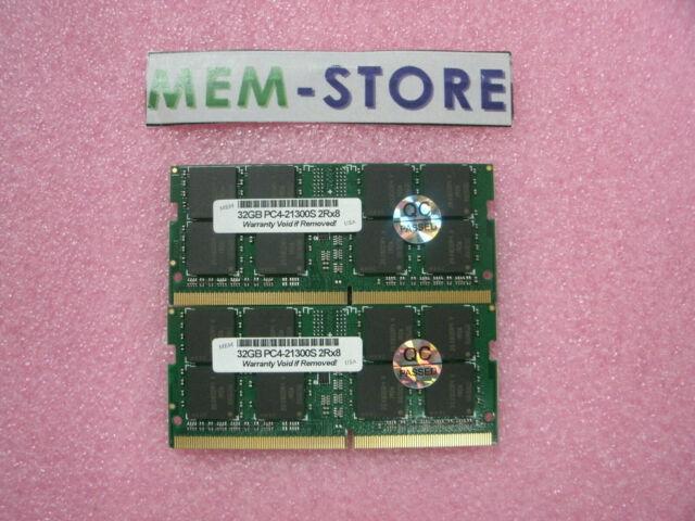 RAM MICRON 2x8GB Mac or PC Laptops 2666 MHz DDR4 SO-DIMM 260-pin PC4-21300