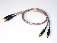 3,00m Cinchkabel RG 142 mit Neutrik Steckern und vergoldeten Kontakten RG142 NEU