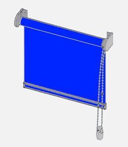 ROLLO-JRS-Seitenzugrollo-034-Color-034-Kettenzugrollo-Sicht-u-Sonnenschutz-nach-Mass