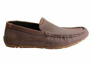 NEW-SLATTERS-RANDALL-MENS-LEATHER-SLIP-ON-CASUAL-COMFORT-LOAFERS