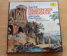 HUGO WOLF Italienisches Liederbuch MATHIS SCHRIER ENGEL 2LP box DGG 2707069 nm