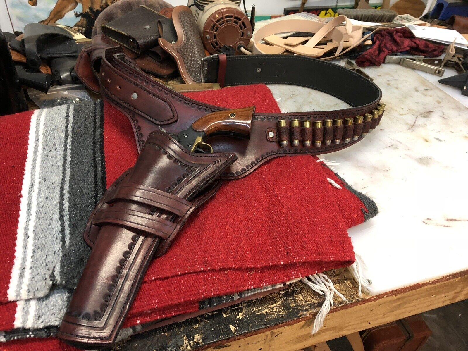 Cinturón de Pistola personalizado y acción Funda Vaquero