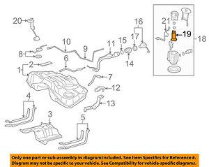 image is loading lexus-toyota-oem-06-15-is250-fuel-pump-