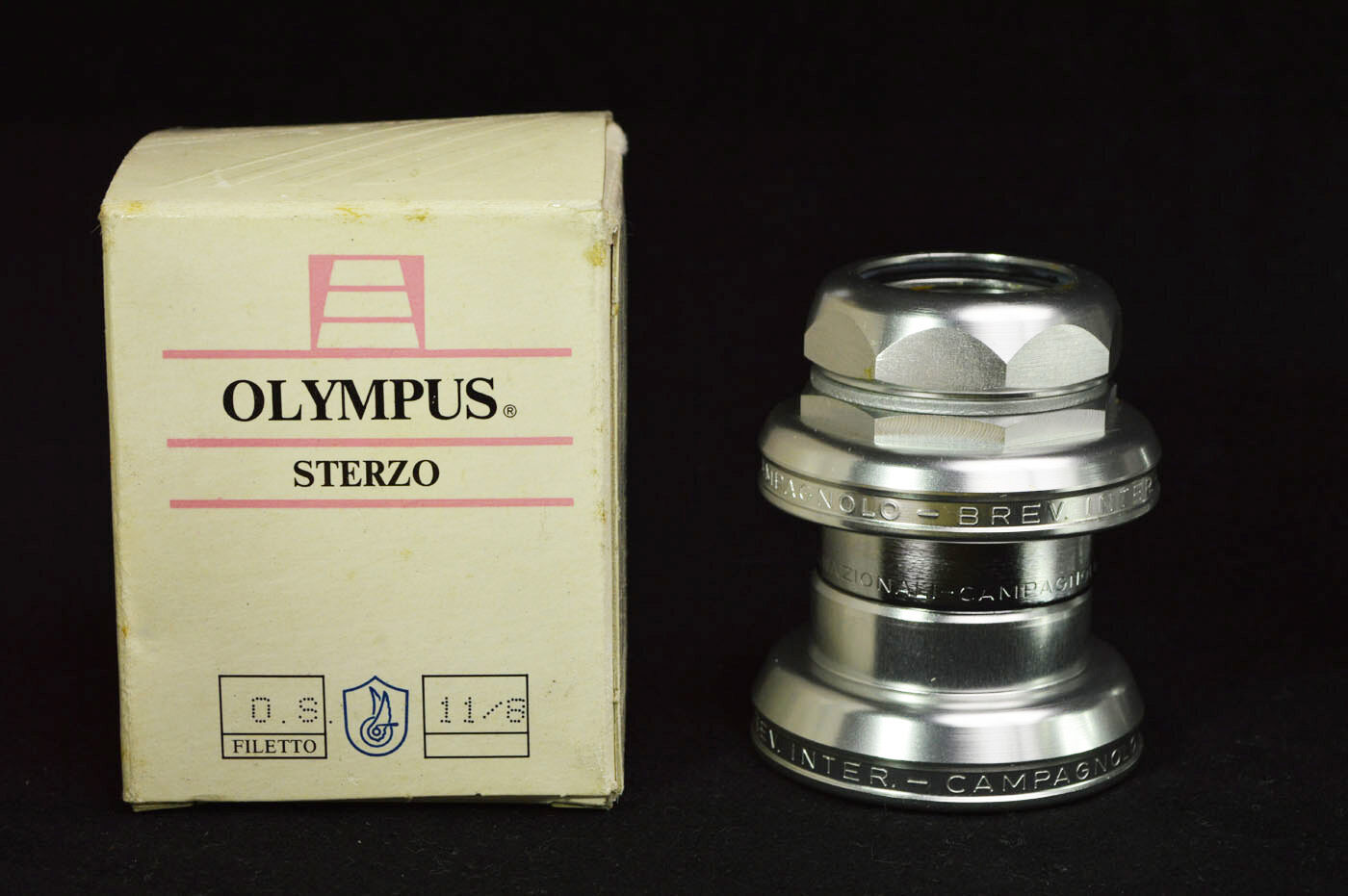 NOS Campagnolo Olympus New In Box sterzo 5 4 1 1 4  MTB rare vintage headset