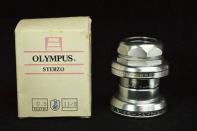 """NOS Campagnolo Olympus New In Box sterzo 5/4 1 1/4"""" MTB rare vintage headset"""