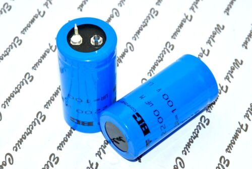BCcomponents 056 2200uF 100V Power Snap-In Capacitor-222205649222 1pcs