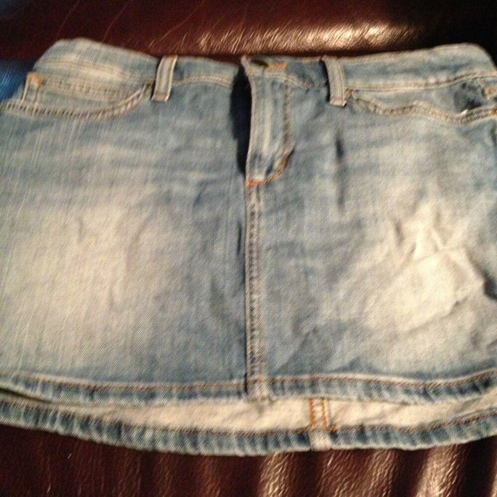 New Joe's Joe Jeans Mini Skirt Size 30 Women's Denim bluee