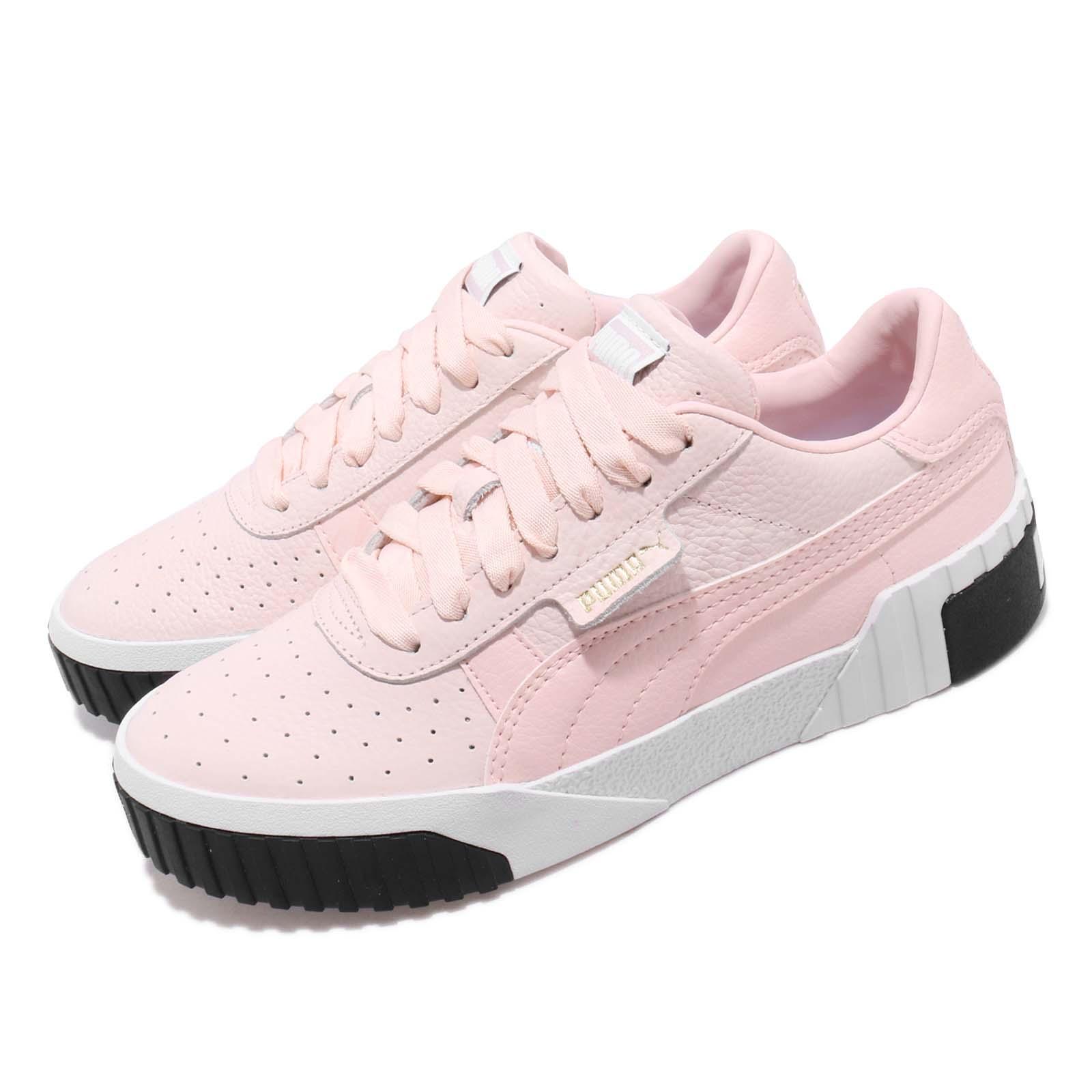 Puma Cali Wns Pink Dogwood White Women Fashion shoes Sneakers 369155-06